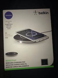 Wireless  cell phone charger. Never used  Mt Pleasant