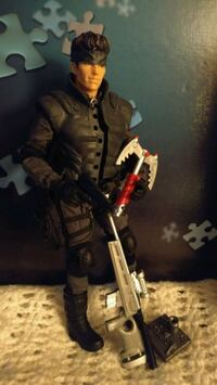 Collector toys:Solid Snake: GIJoe Yet I; Creeper Toronto, M9B 6A5