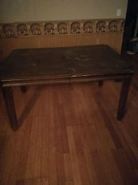 Very Old Antique Dining Room Table w/ Leaf 217 mi