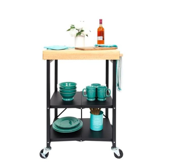 Used Origami Foldable Kitchen Cart In