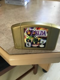 NINTENDO 64 GOLD CARTRIDGE EDITION: ZELDAS MAJORAS MASK . Edmonton, T5L