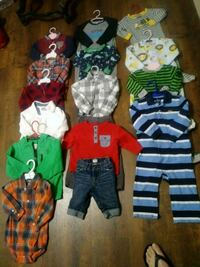 toddler's assorted clothes McAllen, 78501