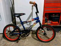 blue and red BMX bike New Castle, 19720
