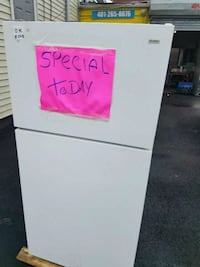 white top-mount refrigerator Providence, 02905