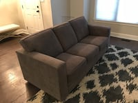 Barely used sleeper sofa with PureGel Memory Foam Mattress Gaithersburg, 20878