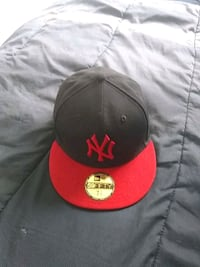 black and red New Era 9Fifty snapback cap Lincoln, 68504