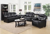 Black sofa & loveseat set Dearborn, 48126