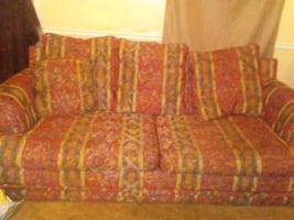 Sofa (with bed),Loveseat & Chair w/ Ottoman