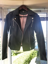 Leather Jacket size 34 Bergen, 5096