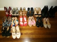 women's assorted pairs of shoes Alexandria, 22306