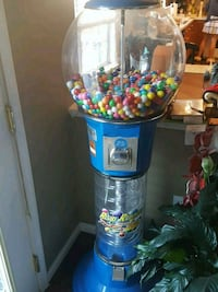 blue and white gumball dispenser Germantown, 20874