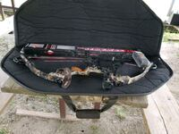 mathews bow draw 50 pounds length 26 inch just the bow and 3 arrows  Barberton, 44203
