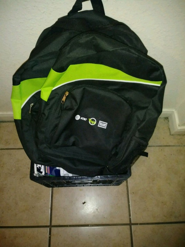 8ddd3e43d351 Used black and green Adidas backpack for sale in Dallas - letgo