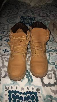 Timberland boots size 6.5 wheat color new never worn Birmingham, 35214