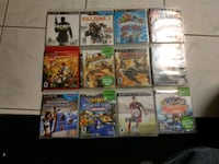 assorted PS3 games, option or not PS3 inclued Toronto, M6H 3V5