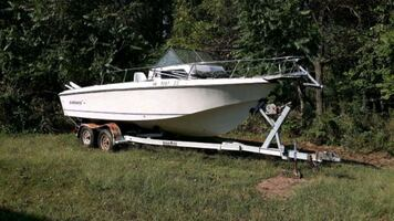 22 ft Galaxy boat for sale cabin  motor need to sell ASAP pick up only