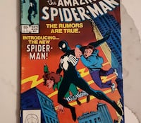 Amazing Spiderman 252 comic Toronto, M5B