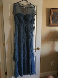 women's long blue dress Aldie, 20105