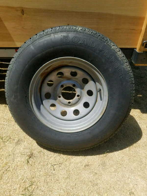 Single axle Trailer tire