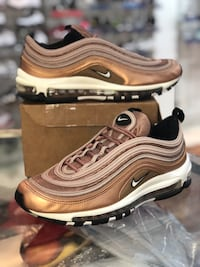 Bronze Air max 97s size 9 Silver Spring, 20902