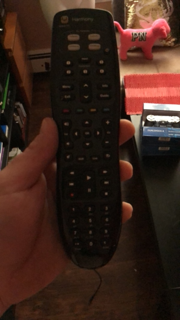 black and gray remote control