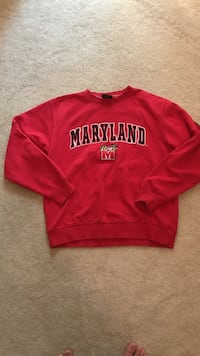 University of Maryland sweatshirt Chantilly, 20151