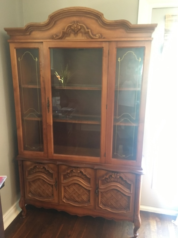 Used Dining Room Hutch China Cabinet For Sale