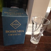 Brand New Bohemia Crystal Vase Pickering, L1V 4N1