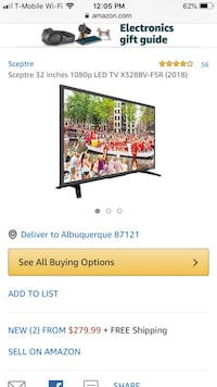 "BRAND NEW IN BOX TV 32"" $170 Albuquerque, 87114"