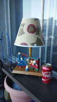 Children's lamp with built in music box Dollard-Des Ormeaux, H9G 2L6