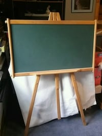 Brown and black wooden easel Waterford, N0E 1Y0