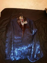 Blue prom Tux Campbell, 44405