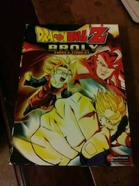 Dragon Ball Z movie Broly Triple Threat O'Fallon, 62269