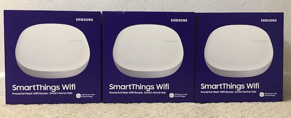 Samsung SmartThings Wifi Mesh Wireless Router - 3 pack