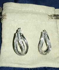 Gorgeous Sterling Silver Earrings. Exeter, 03833