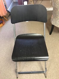 Foldable high chair .. used it for a desk- it's bar chair  Derwood, 20855