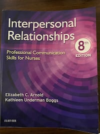 Interpersonal Relationships Texbook Vancouver, V5X 3B2