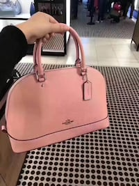 women's pink leather 2-way bag New York, 11220