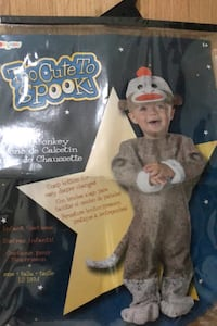 Sock Monkey costume 12-18 month Alexandria, 22311