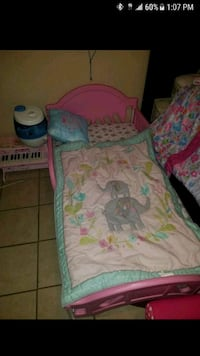 Toddler bed with brand new mattress make me an off El Paso, 79936