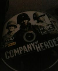 company of heroes compact disc