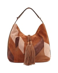 Urban Expressions Brown Patchwork Hobo Bag- Brand new  Dunn Loring, 22027