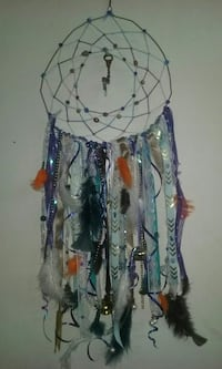 blue and white dreamcatcher Rock Spring