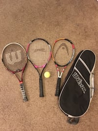 Tennis rackets for sale no lower then $50 Laurel, 20707