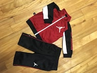 red and black Nike pullover hoodie Montréal, H1T 1W5