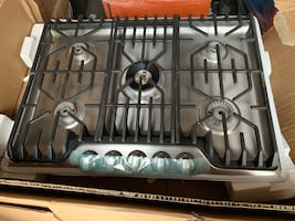 """Frigidaire Professional 30"""" Gas Cooktop Stainless Steel"""