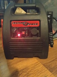 black and red Troy-Bilt portable generator Hamilton, L8N 2S7