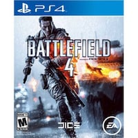 BATTLEFIELD 4 for ps4 no scratches Houston, 77081