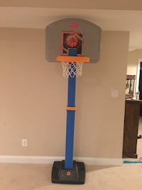 Adjustable basketball hoop by fisher price 4-5-6 feet Ashburn, 20148