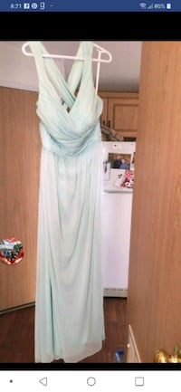 Mint green bridesmaid dress  Edmonton, T5Y 4M2